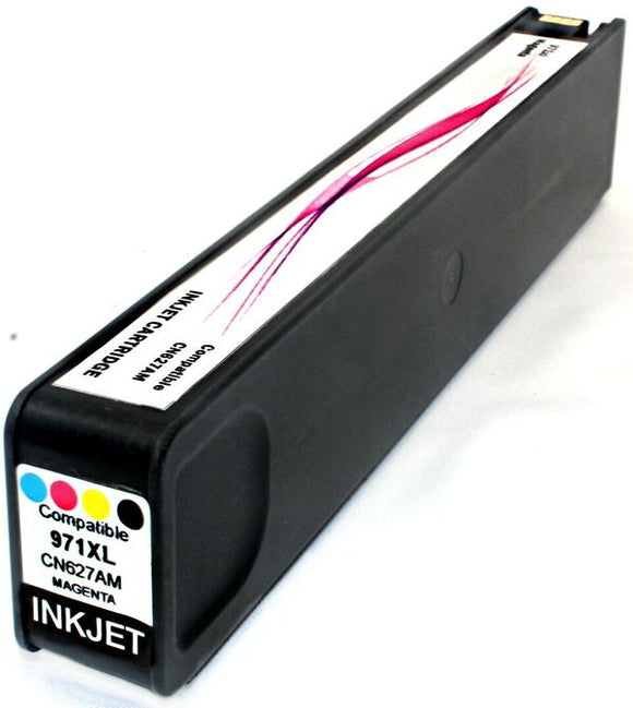 CN627AM, HP 971XL Magenta Remanufactured HY Inkjet Cartridge