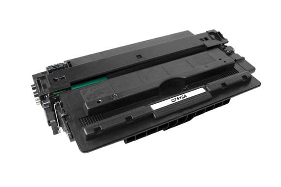 Q7516A, Q7570A Black MICR USA Reman. Toner Cartridge