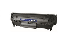 Q2612A Reman. Black Toner Cartridge