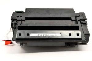 Q7551X Black HY MICR USA Reman. Toner Cartridge