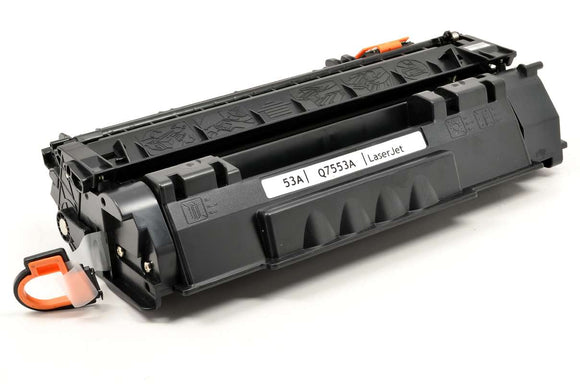 Q7553A Compatible Black Toner Cartridge (Reman.)