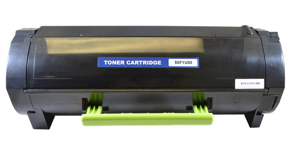 50F1U00 Remanufactured Laser Toner Cartridge. Replacement for Lexmark 50F1U00, 50F0UA0, 501U, 500UA