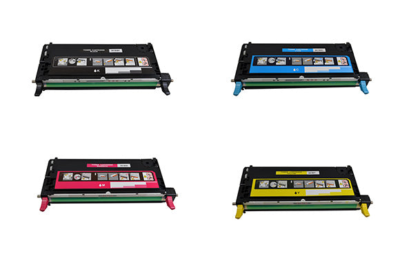 X6180BK/C/M/Y Remanufactured Color Laser Toner SET for 113R00726,113R00723, 113R00724, 113R00725