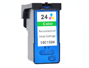 18C1524, No.24 Remanufactured Color Inkjet Cartridge