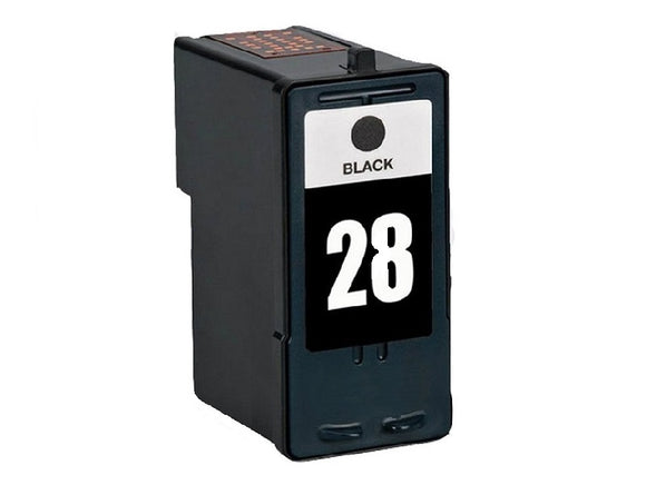 18C1528, No.28 Remanufactured Black Inkjet Cartridge