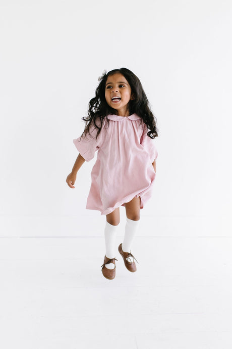 Mabel Dress in Blush