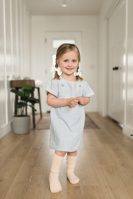 Lottie Pinstriped Dress