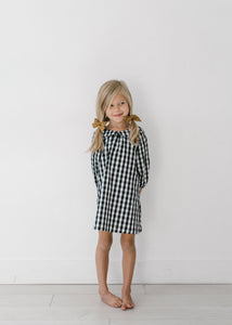 Checked Mabel Shirt Dress