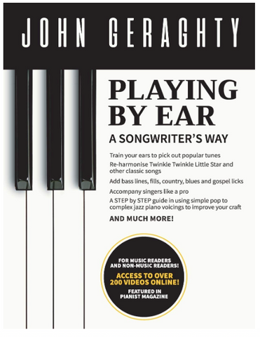 playing by ear a songwriter's way by john geraghty
