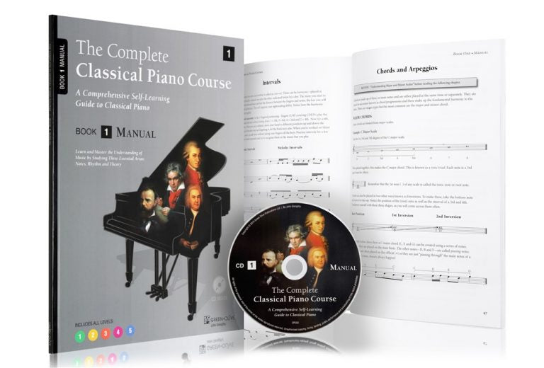 The Complete Classical Piano Course Book One Manual