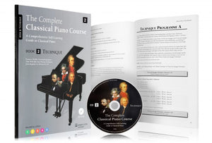 The Complete Classical Piano Course Book Two Technique