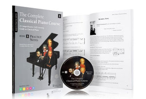 The Complete Classical Piano Course Book Three Practice Notes