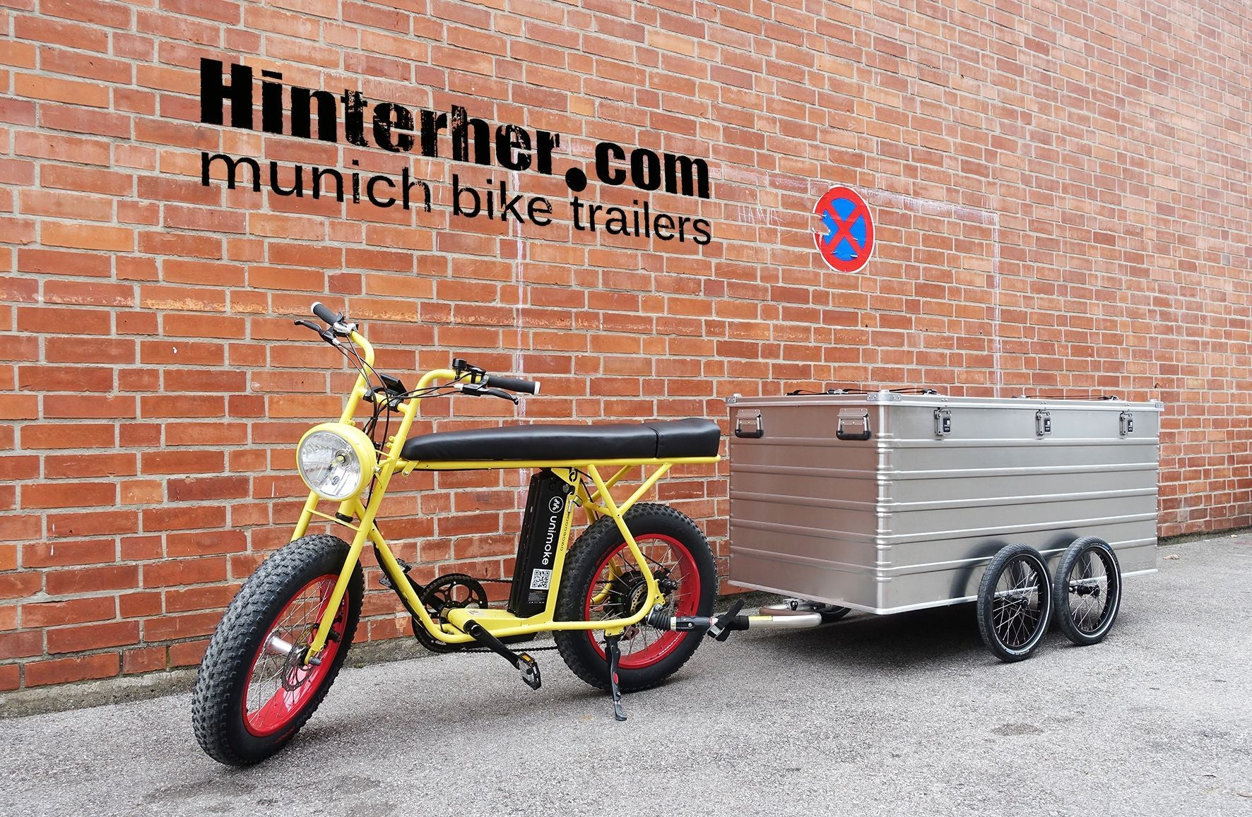 Love on first ride: UNIMOKE meets Hinterher.com