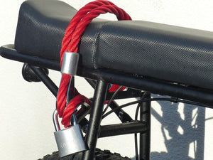 NEW steel cable bike lock by Urban Drivestyle