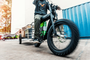 How electric cargo bikes, bike trailers and delivery e-bikes will change the way our cities will look tomorrow!