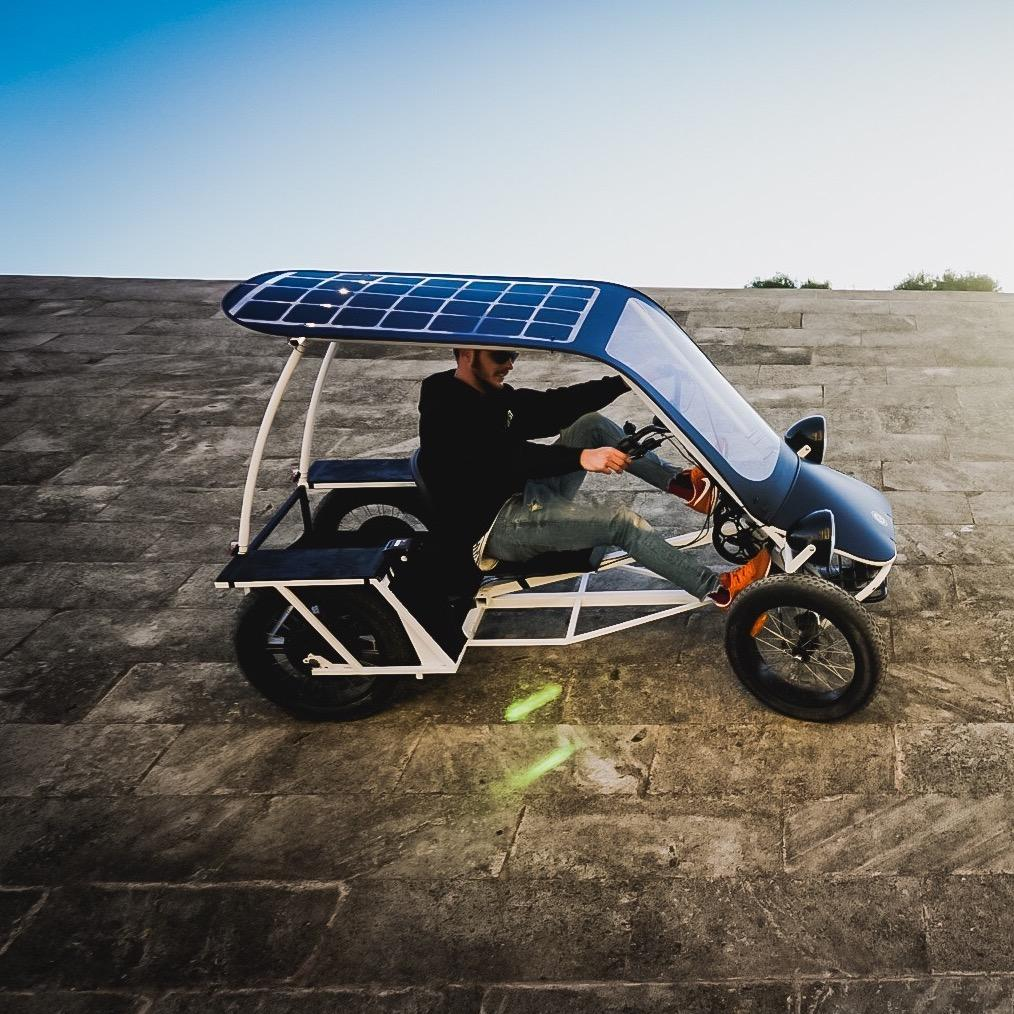 DUO MOKE Project: A new breed of electric multi-person electric cargo bikes