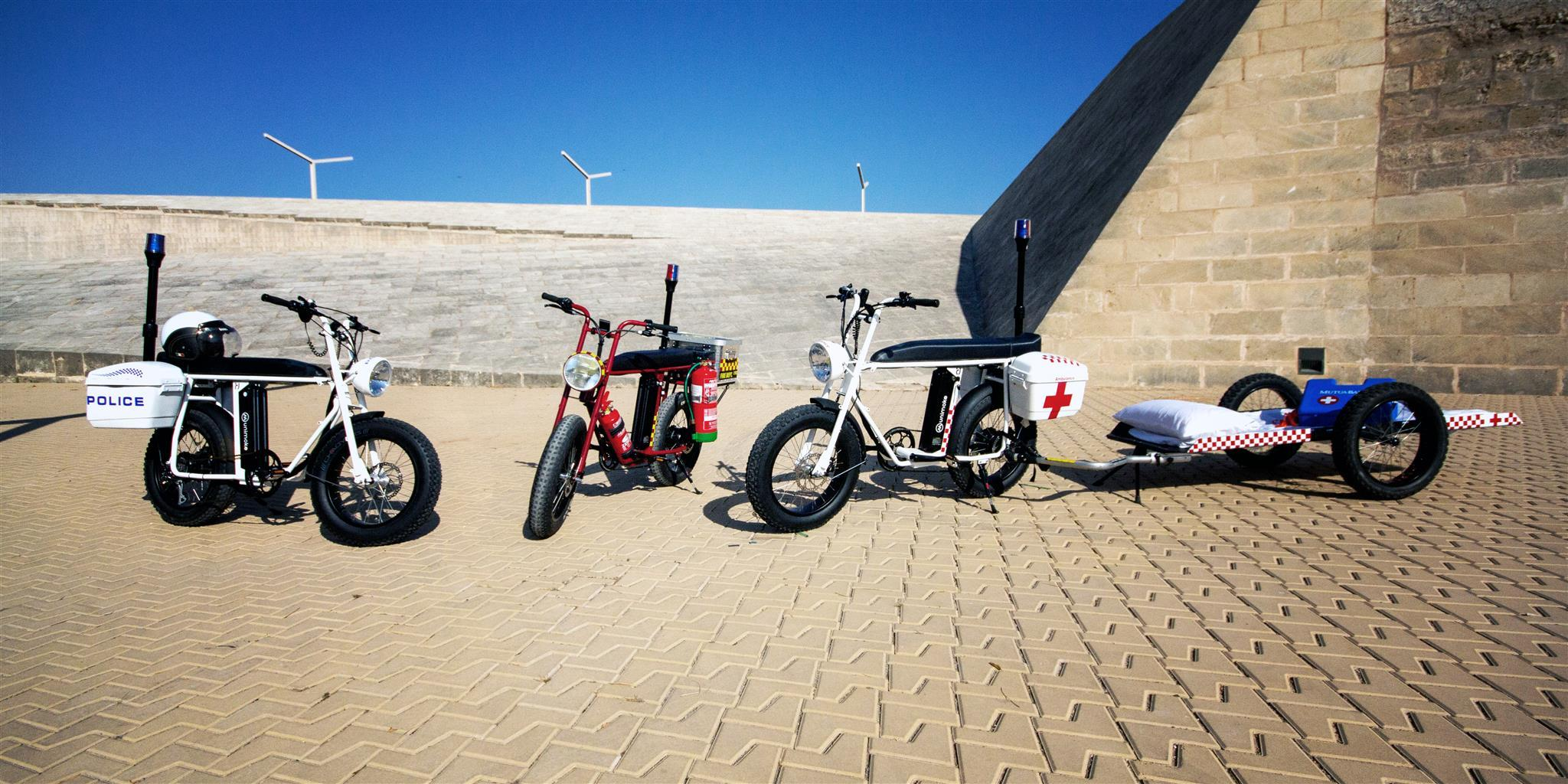 Uni Moke: The perfect utility electric bike for government and public services