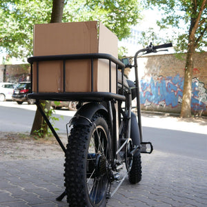 Rear Cargo Basket Chromoly Steel UNI Moke Swing Carrier Deck