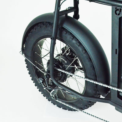 Fat Bike Fenders UNI Moke Swing Mud Guards Branded with Urban Drivestyle Logo