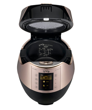 6 Cup IH Pressure Rice Cooker With LCD Touch Display