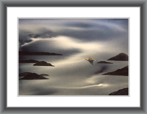 Coming Home-Techniques > Giclée Prints, Size > Medium (21-50 cm\, eg. A4 and A3), Styles > Seascapes-Rutheart