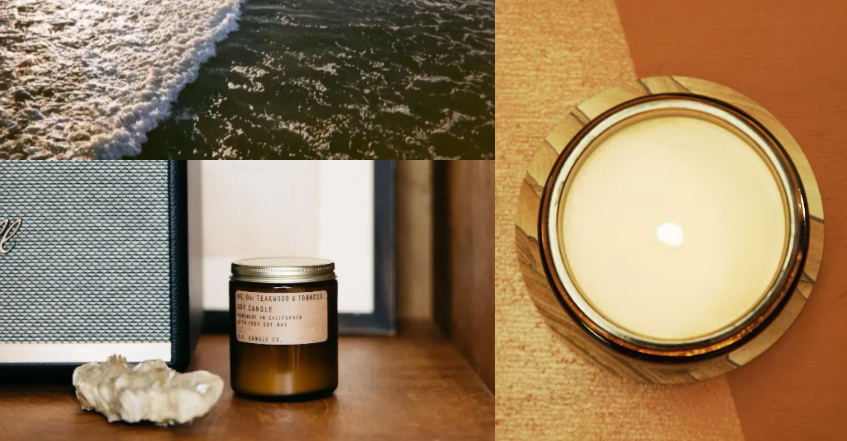 PF Candle Co EU What's in our Candles product information page