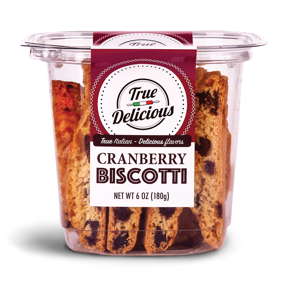 Cranberry Biscotti - True Delicious | Authentic Italian Desserts