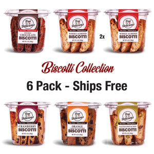 True Delicious Biscotti Collection 6-Pack - True Delicious Biscotti
