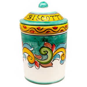Amalfi Biscotti Jar - True Delicious | Authentic Italian Desserts