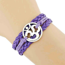 Load image into Gallery viewer, Yoga symbol bracelet