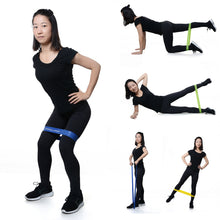 Load image into Gallery viewer, Yoga resistance bands 0.35mm-1.1mm