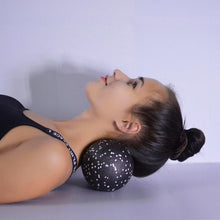 Load image into Gallery viewer, Cylinder, sphere and peanut foam massage roller set