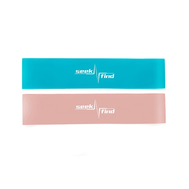 Two-piece resistance band set