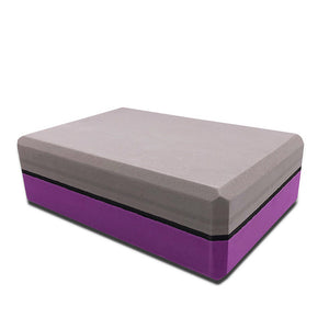Two-color foam Yoga block