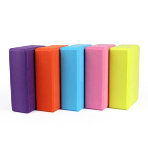 Colored foam Yoga block