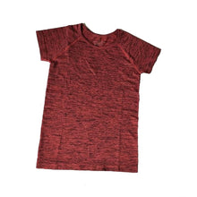 Load image into Gallery viewer, Quick-dry round-neck Yoga tee