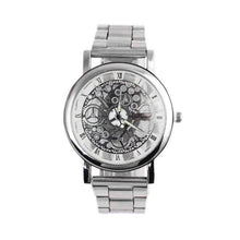 Load image into Gallery viewer, Steel Strip Mechanical Gear Watch #109