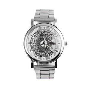 Steel Strip Mechanical Gear Watch #109