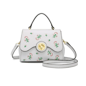 J&J Cute Embroider Crossbody Handbag #503