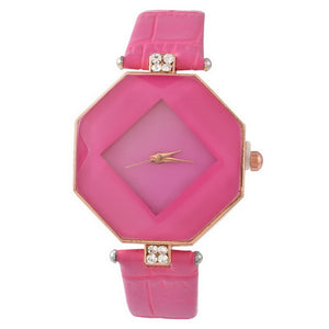 Doreen Box PU Leather Quartz Wrist Watches #101