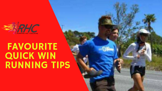 My favourite quick win running tips to get more out of your training and racing