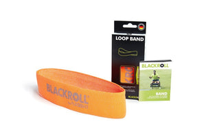 blackroll loop band orange