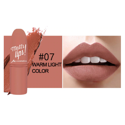 Long Lasting Waterproof Metallic & Matte Lipstick