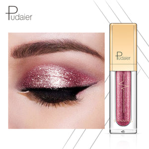 18 Colors Shine Smoky Eyeshadow Waterproof Dimond Glitter Liquid Eyeshadow