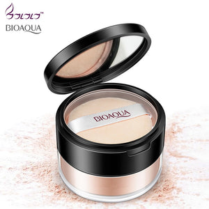 Matte Loose Setting Powder Oil Control Soft Light Silk Foundation Makeup