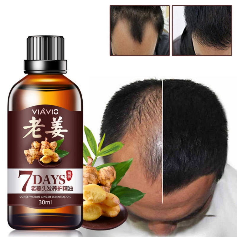 Hair Essential Oil Hair Care Oil Ginger Essence Hairdressing Hairs