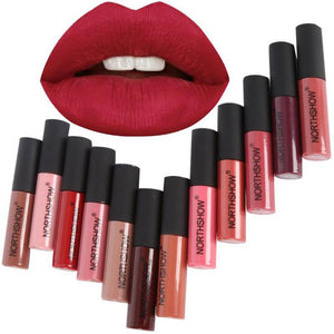 12 Colors Matte Liquid Lipstick Long Lasting Makeup