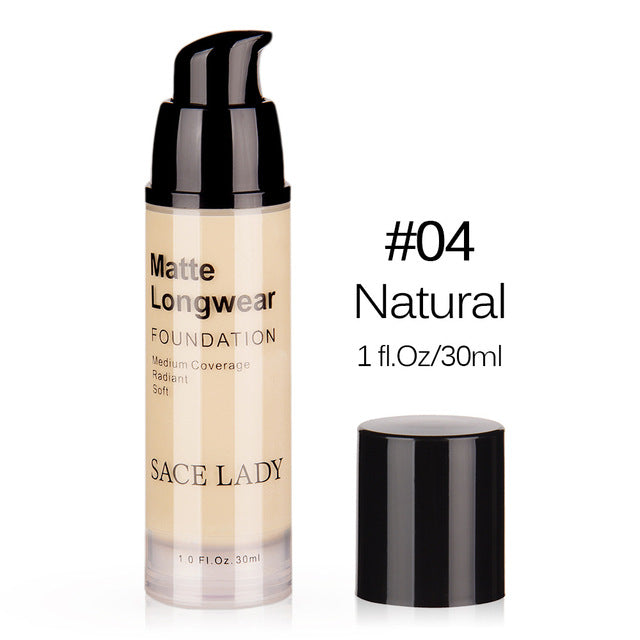 Face Foundation Cream Base Makeup Professional Matte