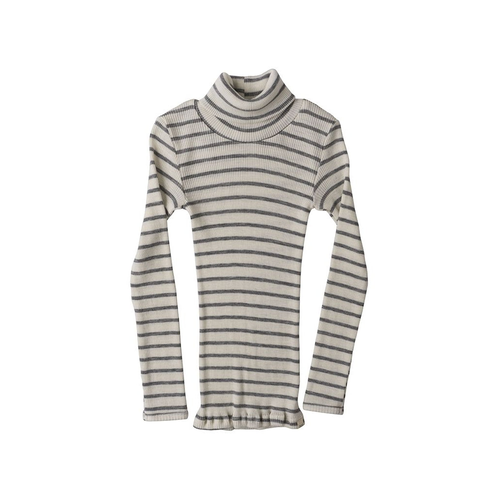 Blouse babies wear organic sustainable luxurious fashion children clothes silk seamless merino wool natural design nordic minimalisma shop sale Alf 6-14Y Grey Stripes--20134584352841,20134584385609,20134584418377,20134584451145