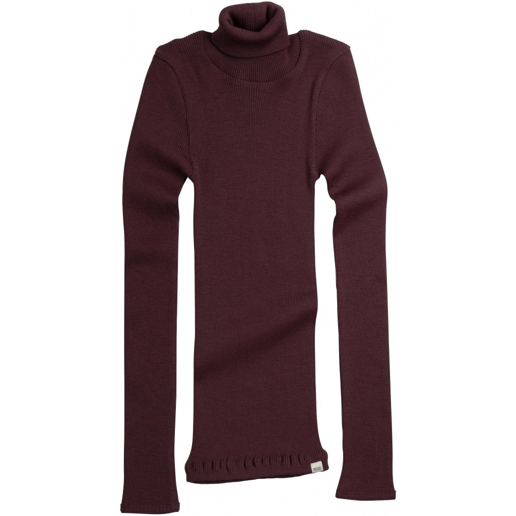 Blouse babies wear organic sustainable luxurious fashion children clothes silk seamless merino wool natural design nordic minimalisma shop sale Alf 6-14Y Raisin--32505048498257,32505048531025,32505048563793,32505048596561
